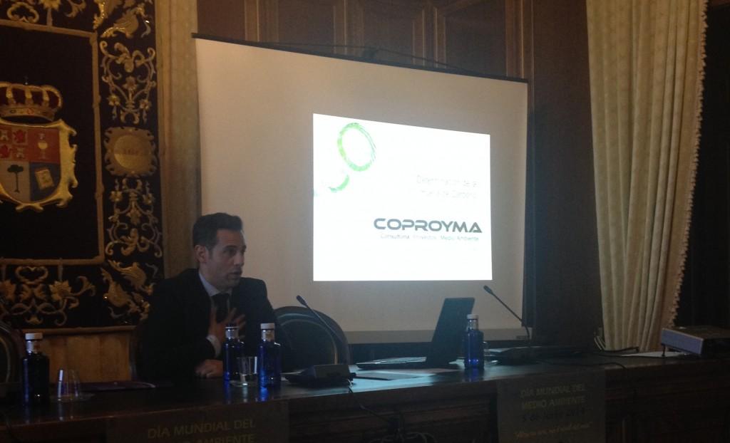 Coproyma en las Jornadas de Ecoinnovación en la Cámara de Comercio de Cuenca.